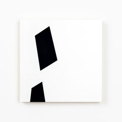 Colonnade #13,  Olieverf op berken multiplex 26x26x3,6 cm (2019)