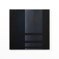 Colonnade #02,  Olieverf op berken multiplex 44x44x3 cm (2020)