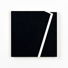 Colonnade #17,  Olieverf op berken multiplex 20x20x3cm (2020)