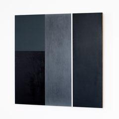 Dormitory 07, Olieverf op houtpaneel 80x80x4,6 cm (2018)