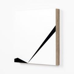 Colonnade #24,  Olieverf op berken multiplex 26x26x3,6 cm (2020)