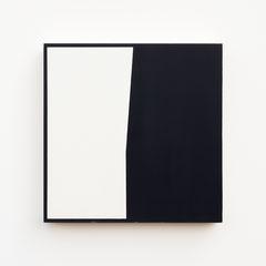 Foundation 05, Olieverf op berken multiplex 26x26x3,6 cm (2019)