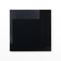 Colonnade #07,  Olieverf op berken multiplex 44x44x3 cm (2020)