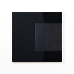 Colonnade #08,  Olieverf op berken multiplex 44x44x3 cm (2020)