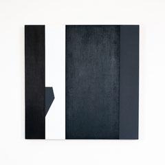 Dormitory 05, Olieverf op berken multiplex 44x44x3 cm (2018)