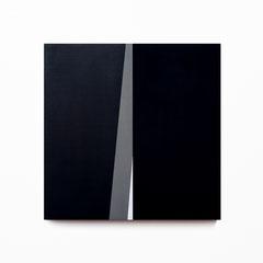 Colonnade #21,  Olieverf op berken multiplex 26x26x3,6 cm (2020)