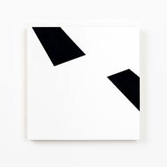Colonnade #12,  Olieverf op berken multiplex 26x26x3,6 cm (2019)