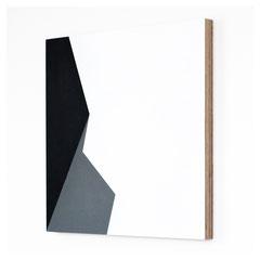 Dormitory 01, Olieverf op berken multiplex 44x44x3 cm (2018)