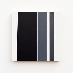 Foundation 08, Olieverf op berken multiplex 26x26x3,6 cm (2019)