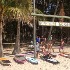 The best camp spot on South Stradbroke!