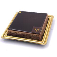 Opéra : ganache chocolat, crème au beurre café