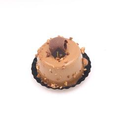 Paradis : crème brûlée vanille, mousse chocolat caramel