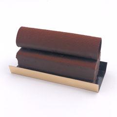 Bûcheron : biscuit chocolat, mousse chocolat