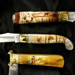 Miniature ad aerografo by Lorena Straffi si coltelli Consigli