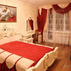 Спальня в классическом стиле на Таганке.