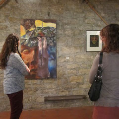 Ausstellungsraum von Theresa Hartmann