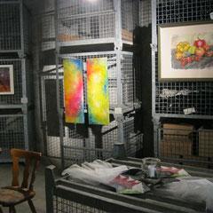 Ausstellung Theresa Hartmann im Flaschenlager