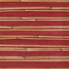 Bambustapeten, rot