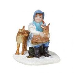 608262-Carolien and fawn deer