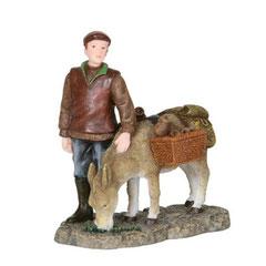 602593-Xavier with donkey