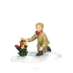 600595-Clement Stirner picks flowers