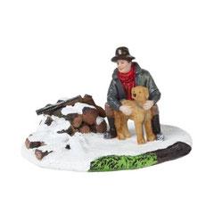 608274-Hunter with hound