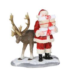 602568-Santa with deer