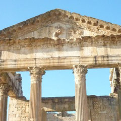 Ciudad arqueológica de Dougga