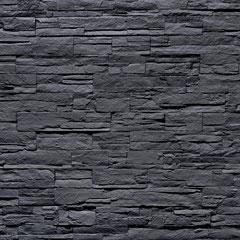 Kunststein Wandpaneele Lascas negra