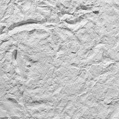 Kunstfelsen Wandplatte Roca blanca
