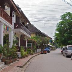 Laos, Luang Prabang: Souvannakhamphong street