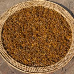 Laos, Luang Prabang: marigold seeds