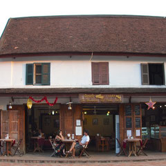 Laos, Luang Prabang: Le Banneton Cafe & French Bakery on Sakkaline Street