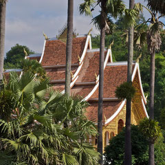 Laos, Luang Prabang: Wat Ho Prabang, adjacent to National Museum