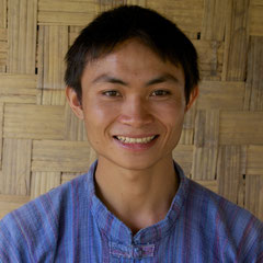 Laos, Luang Prabang: Xai, a partner at The Living Land community farm