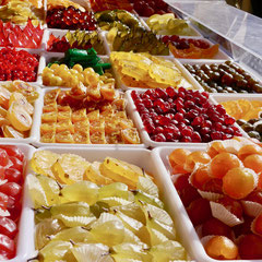 Markt in Nizza Frankreich Cote DÀzur
