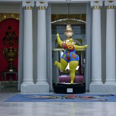 Nizza, Hotel Negresco Ausstellung Niki Saint Phalle Frankreich Cote DÀzur