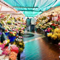 Blumenmarkt in Nizza Frankreich Cote DÀzur