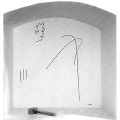 KREUZWEGSTATION Nr XI,  Stein im Jauntal, 1991