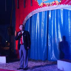 Eröffnung des Abends und Begrüßung der Gäste