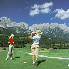 Golf am Wilden Kaiser