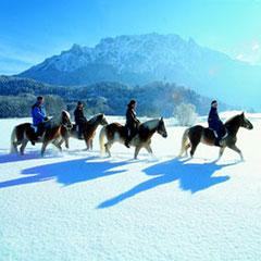 Winterausritt am Zahmen Kaiser