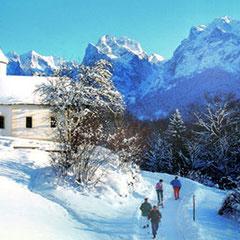 Antoniuskapelle im Winter