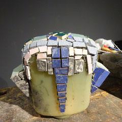 Herstellung einer Mosaik-Skulptur