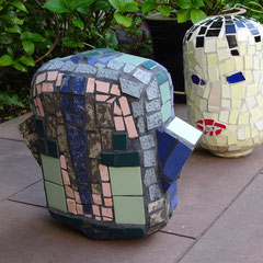 Mosaik Skulpturen