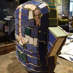 Gestaltung einer Mosaik-Skulptur