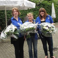 v.l. Mechthild Klute-Köntges, Heike Schindler, Milena Bensikaddour