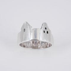 Ring, Silber poliert