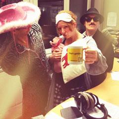 Der 11.11. morgens bei Radio Köln! Foto: JBK