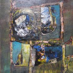 fenêtre - 55 x 46 cm